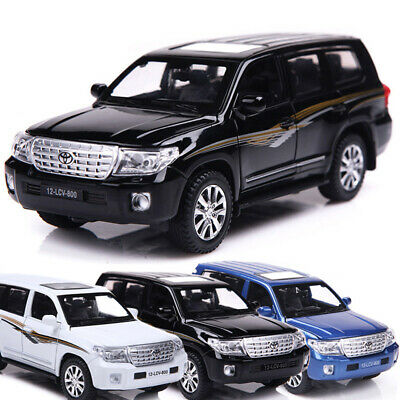 Toyota Land Cruiser V8 SUV 1:32 Scale Car Model Toy Vehicle Diecast Gift Kids