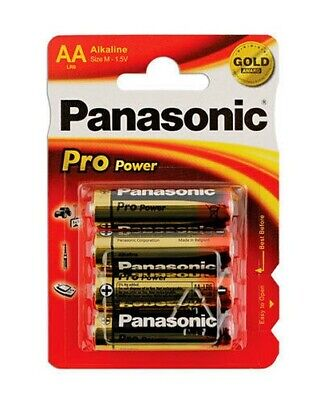Connect 30665 Panasonic Pro Power Batterie Aa 1 Carte de 4