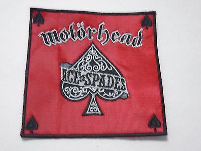 Motorhead Ace Of Spades Embroidered Patch