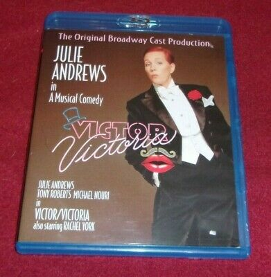 Victor/Victoria RARE OOP Blu Ray disc Original Broadway Cast Production