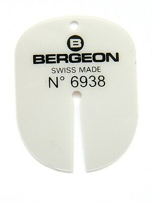 Bergeon 6938 Watch Dial Protection Pad For Hand  Removal Swiss Made