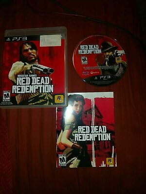 Red Dead Redemption PS3 Sony PlayStation 3 Complete CIB PERFECT DISC FastShip!!!