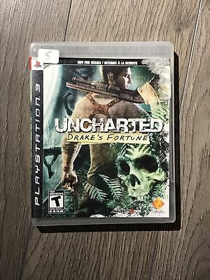 Uncharted Drake's Fortune NOT FOR RESALE TAG PS3 Complete CIB Fast Ship World!!!