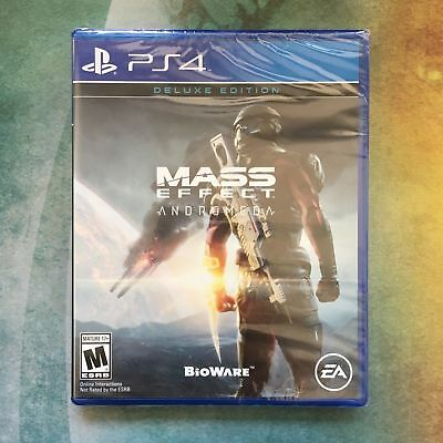 Mass Effect Andromeda Deluxe Edition PS4 PlayStation 4 NEW SEALED Fast Shipping!
