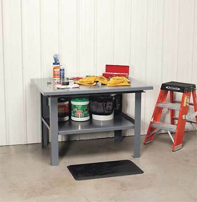 "JAMCO WD460GP Fixed Work Table,Steel,60"" W,36"" D"