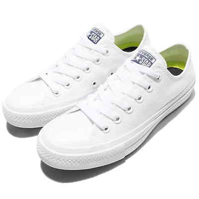 fb03a2905b5d CONVERSE All Star Chuck Taylor II 2 Lunarlon Low White | BRAND NEW | NEVER  WORN