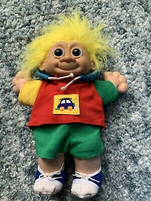 Russ Large Troll Doll Yellow Hair And Outfit