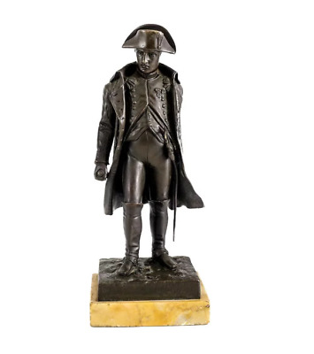 V. Riviere (French 19th / 20th Century) Patinated Bronze Napoleon Sculpture