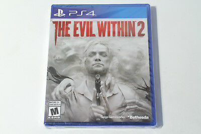 The Evil Within 2 (PS4 / PlayStation 4) Brand New - Factory Sealed