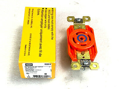 Hubbell IG2810 Isolated Ground Twist-Lock Receptacle 30A 120/208 3Ø 4P 5W L21-30