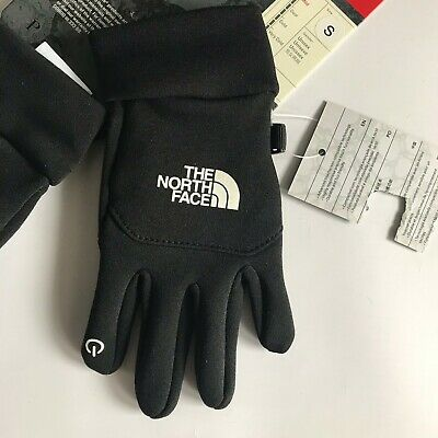 The North Face TNF Black Kids/Youth Etip Unisex Gloves  - S (Small) - New
