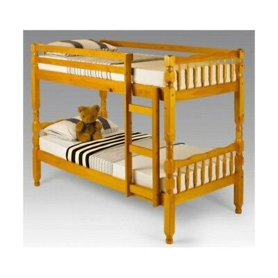 Pine Bunk bed - Single bunk Bed - Wood bunk bed - Bunk beds - Children bunk bed