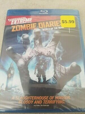 Blu-Ray Disc Zombie Diaries World of the Dead Dimension Extreme