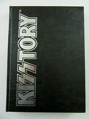 KISSTORY Book SIGNED by Gene Simmons Paul Stanley Eric Singer Bruce Kulick