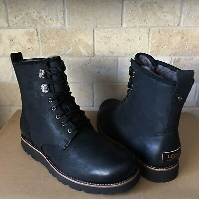 62c753e22e5 UGG MEN'S HANNEN TL Casual Leather Winter Boots Black 1008139 7 8 9 ...