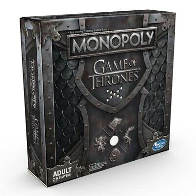 New MONOPOLY Game of Thrones Winterfell Castle Westeros Board Game Free Postage