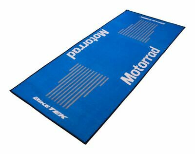 BikeTek Series3 MOTORAD Logo Garage Floor Rug Workshop Motorcycle Mat 190 X 80cm