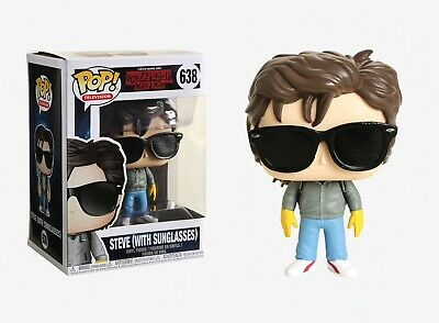 Funko Pop TV: Stranger Things - Steve (With Sunglasses) Vinyl Figure Item #30877