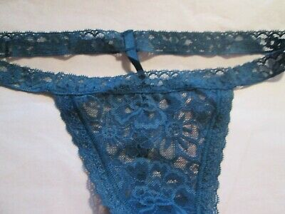 0841cd12e0b3 NEW W/TAG VICTORIAS Secret Lace Thong Size XS S M or L ~Your Choice ...