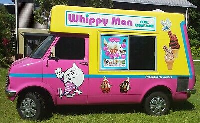 Original Mr Whippy Ice Cream Van