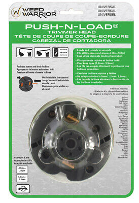 Weed Warrior  Push-N-Load  0.095 in. Dia. x 10.13  L Trimmer Head