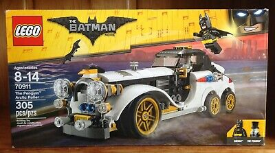 The Lego Batman Movie 70911 The Penguin Arctic Roller 305 Pieces 100% Complete
