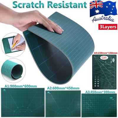 A1/2/3+A5 Professional Craft Self Healing Cutting Mat+Gift Double-Side Printed