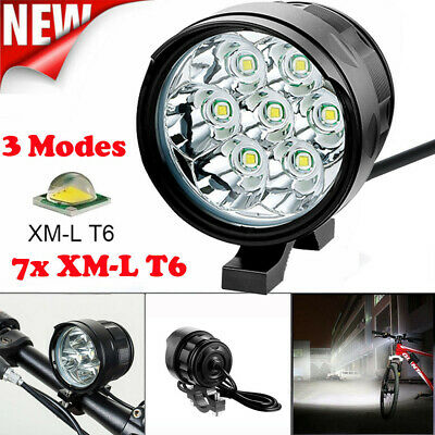 Super Bright 3 Mode LED  Bicycle Front Light Lamp Bike Headlight Cycling Torch