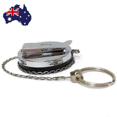 Retractable Recoil Key Ring Chain Pull Holder Reel Belt Clip Extend Keyring