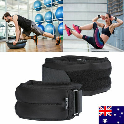 Adjustable Ankle Wrist Weights Training Fitness  Equipment Gym Sandbag 1 KG 2 KG