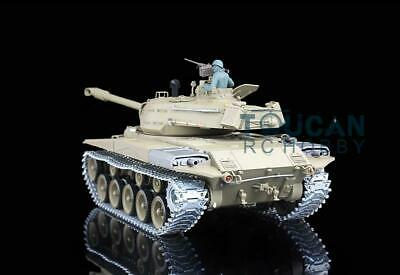 Henglong 6.0 Upgraded RC Tank Walker Bulldog RTR 3839 W/ 360° Turret 1/16 Scale