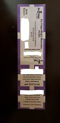 SIX FLAGS MAGIC MOUNTAIN General Admission tickets - 6 tickets available