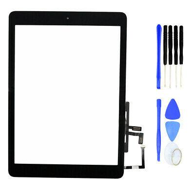 For iPad Air A1474 Touch Screen Digitizer Replacement with Home Button Kit HOT