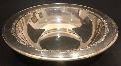"Big 1920s 10"" Gorham Sterling Silver Plate"