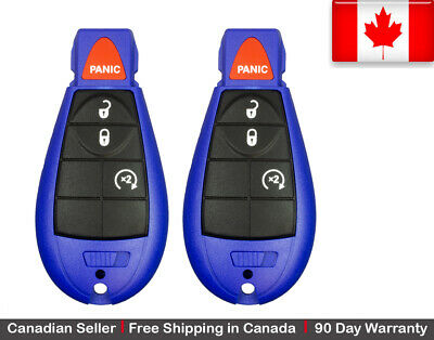 2.x New Replacement Keyless Entry Remote Control Key Fob For Dodge Jeep Chrysler