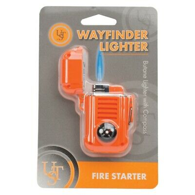 UST Brands  Wayfinder  Butane Lighter w/Compass  1 pk