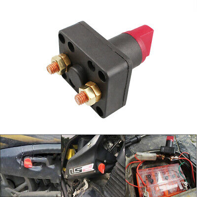 24V Battery Master Disconnect Rotary Cut Off Isolator Switch Car motorcycle Boat