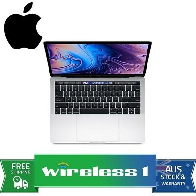 Apple 13in MacBook Pro Touch Bar quad-core 8th Gen i5 2.4GHz 256GB Silver