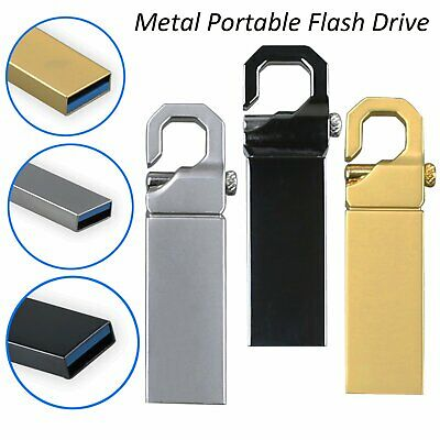Metal Portable Flash Drive Pen Drive USB 2.0 1TB 2TB High Speed Laptop PC USPS
