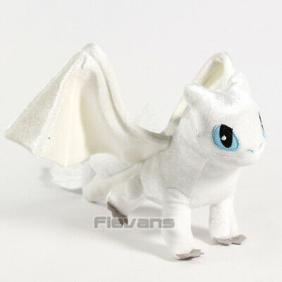 HOW TO TRAIN YOUR DRAGON 3 - PELUCHE FURIA DIURNA / LIGHT FURY PLUSH TOY 17cm
