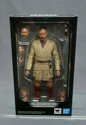 SH S.H Figuarts Ben Kenobi Star Wars Episode IV A New Hope Bandai JAPAN NEW***c