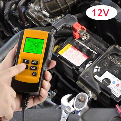 Digital 12V Car Battery Tester Automotive Battery Load Tester And Analyzer Tool