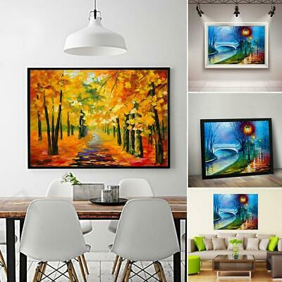 Beautiful Frameless Colorful Painting Printed Oil Painting Home EA9