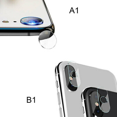 Fr iPhone XR XS Max Accessories Back Camera Lens Screen Tempered Glass Pro NRK