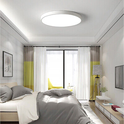 LED Ceiling Light Ultra Thin No Dimmable Flush Mount Kitchen Lamp Home Fixture