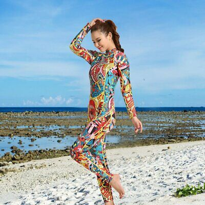 3mm Diving Suit Warm Cr Surf Suit Long-sleeved Conjoined Sunscreen Waterproof OK