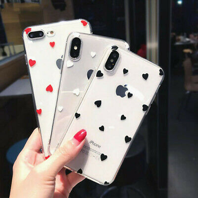 Case for iPhone 8 7 6S Plus XR XS MAX ShockProof Soft Phone Cover TPU Silicone