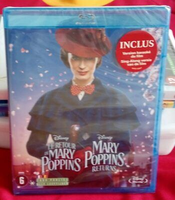 Le Retour de Mary Poppins Dvd / Blu-ray