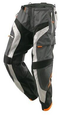 KTM Defender Pants Grey Off-Road Motocross Motorcycle Trousers NEW