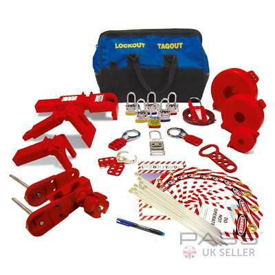 Gate and Butterfly Valve Lockout Tagout Kit